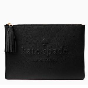 Kate Spade ♠️ NWT Logo Pouch/Clutch